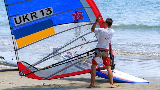 Alguns atletas já chegaram a Búzios e treinam nas praias (Foto: Evelin Martins)