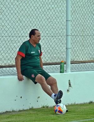 Técnico Nedo Xavier Boa Esporte (Foto: Régis Melo)