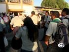 Rodoviários se reúnem e ônibus circulam com atraso em Maceió
