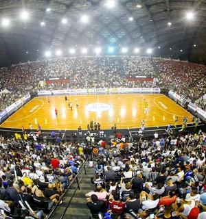 Corinthians x Assoeva semifinal Liga Nacional de Futsal (Foto: Rodrigo Coca/Ag. Corinthians)