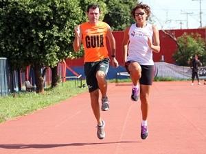 Pista de atletismo do Eldorado é opção apra praticar esportes (Foto: Divulgação)