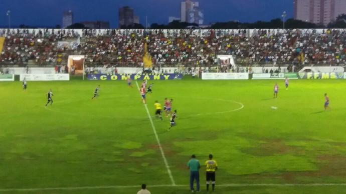 Corumbaense x União ABC no Arthur Marinho (Foto: Carlos da Cruz/TV Morena)