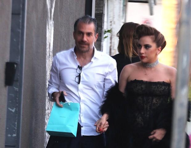 Lady Gaga e Christian Carino (Foto: AKM-GSI )