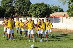 Elenco palmense cresce para a disputa da Segunda Divisão Tocantinense (Foto: Nelio Soares/GloboEsporte.com)