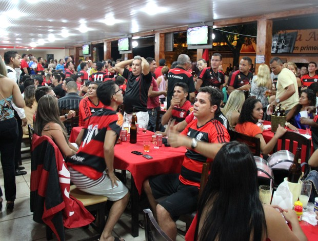 flamengo torcida acre bar (Foto: João Paulo Maia)