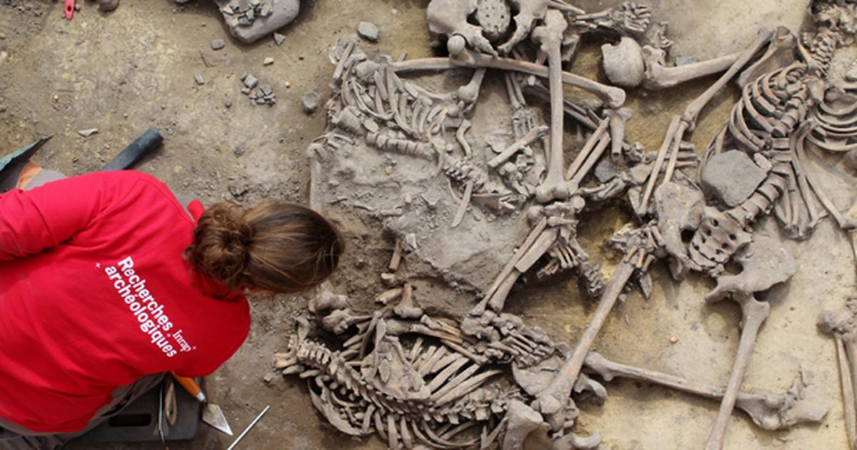 Arqueólogos encontram vestígios de massacre de 6.000 anos na França