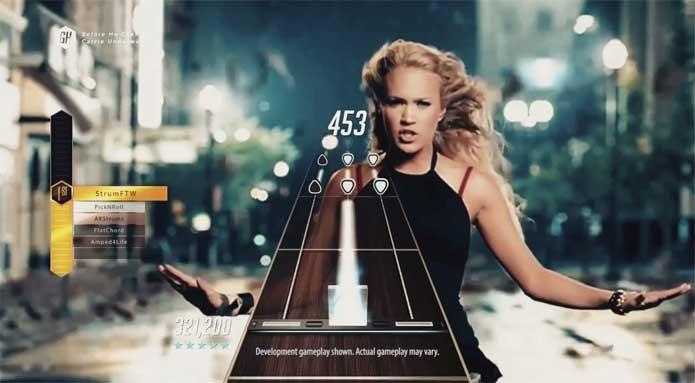 Guitar Hero TV tem músicas grátis! (Foto: Divulgação/Acitivison)
