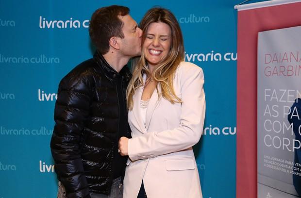 Tiago Leifert e Daiana Garbin (Foto: Roberto Filho/Brazil News)