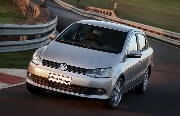 Volkswagen Voyage (Foto: Divulgação)