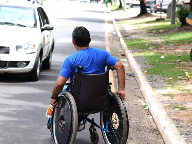 Deficientes terão serviço de transporte gratuito no Maranhão (Foto: Biné Morais / O Estado)