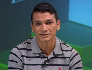 Ronaldo Angelim, ex-jogador do Flamengo (Foto: Reprodução SporTV)