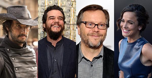 Rodrigo Santoro, Wagner Moura, Fernando Meirelles, Alice Braga (Foto: Getty Images)