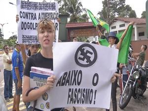 Marcha da família belém (Foto: Reprodução/TV Liberal)
