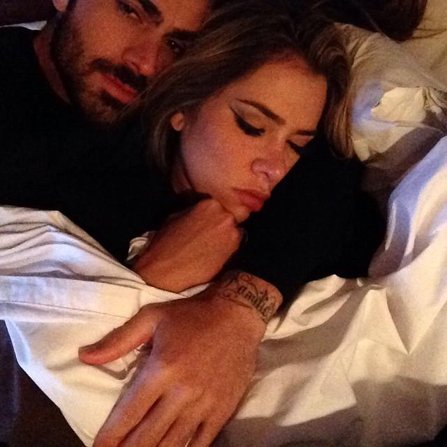 Adriana e Rodrigão: momento mais fofo não tem (Foto: Arquivo pessoal)