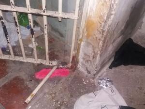 Cela foi serrada em tentativa de fuga, em Bom Jesus da Lapa (Foto: Divulgação/ Polícia Civil)