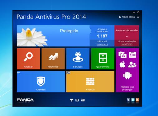 Panda Antivirus Pro 2014 - это интуитивно понятная и наиболее простая защит