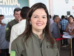 Coordenadora do Serviço de Atendimento Móvel de Urgência (Samu) no Piauí, Christianne Rocha (Foto: Gil Oliveira/ G1)