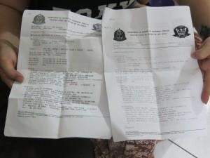Moradores já registraram vários boletins contra vizinho (Foto: Andressa Amorim / G1)