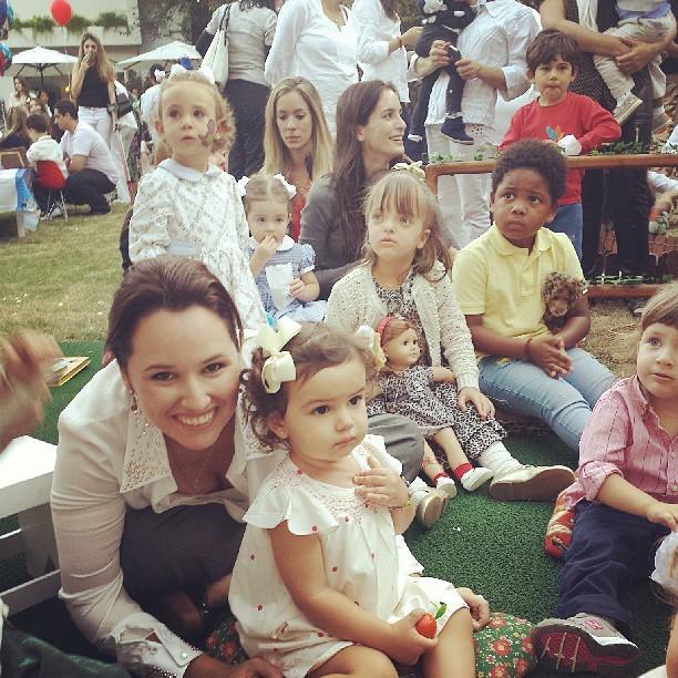 Mariana Belém com filha (Foto: Reprodução/Instagram)