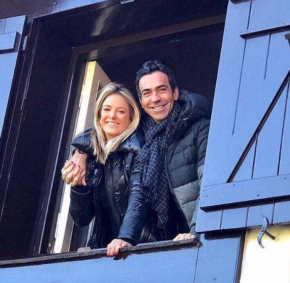 Cesar Tralli e Ticiane Pinheiro (Foto: Reprodução/Instagram)