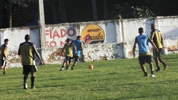 Treino do Botafogo-PB em Cabedelo para a final da Série D do Campeonato Brasileiro (Foto: Divulgação / Botafogo-PB)