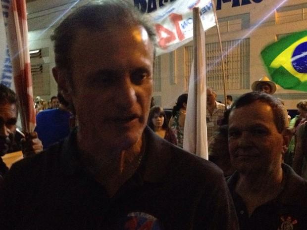 Nelson Bugalho foi eleito prefeito de Presidente Prudente neste domingo (2) (Foto: Wellington Roberto/G1)