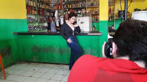 Geisy Arruda (Foto: THAIS ALIN/ AGÊNCIA FIO CONDUTOR)