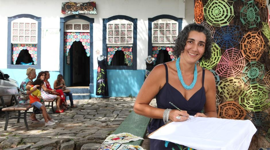 Milena Curado, da Cabocla Criações  (Foto: Edmar Wellington)
