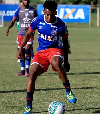 moisés; moisés bahia (Foto: Felipe Oliveira/Divulgação/EC Bahia)
