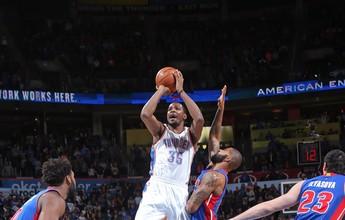 Máquina de pontuar, Durant comanda quarta vitória seguida do Thunder