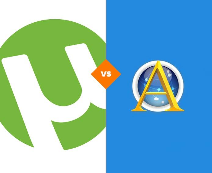 Ares Galaxy ou uTorrent? Veja quais dos programas se sai melhor no comparativo (Foto: Arte/TechTudo)
