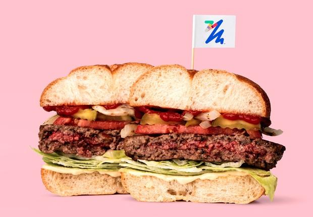 Hambúrguer vegetariano da Impossible Foods (Foto: Divulgação)