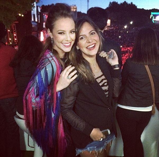 Paola Oliveira e Carol Sampaio no  Rock in Rio Lisboa (Foto: Instagram / Reprodução)