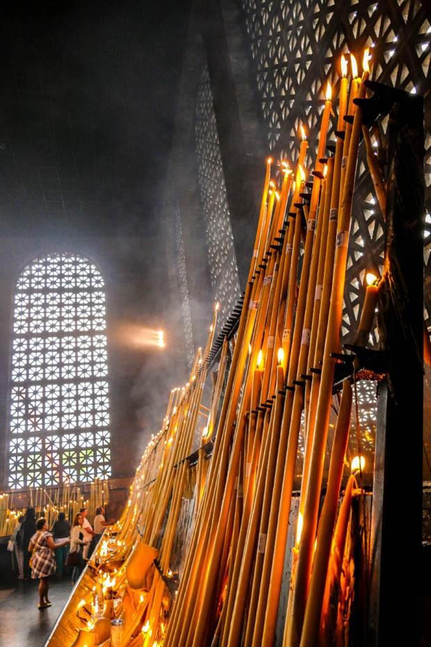 Templo na cidade de Aparecida (Foto: Cesar Itiberê/ Fotos Públicas)