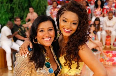 Regina Casé e Juliana Alves (Foto: João Januário/TV Globo)