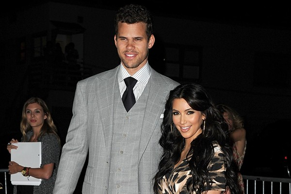 Kris Humphries e Kim Kardashian (Foto: Getty Images)