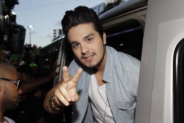 Luan Santana (Foto: Wallace Barbosa/AgNews)