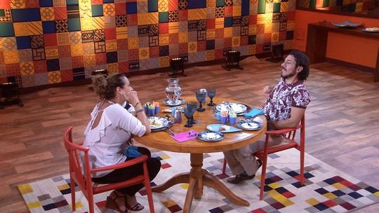 Ieda fala de brother no almoço: 'Marcos é incorrigível'