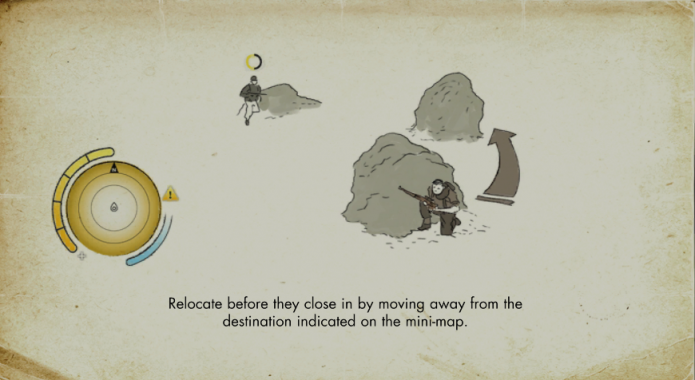 Use o cenário para despistar o inimigo (Foto: Reprodução/Paulo Vasconcellos)