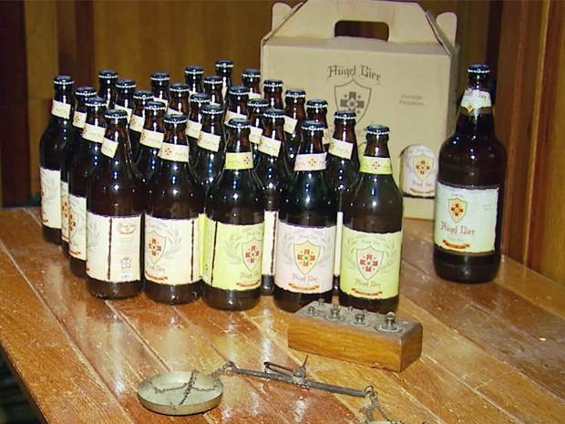 Produtores de cerveja artesanal montam fábricas no Sul de Minas (Foto: Reprodução EPTV)
