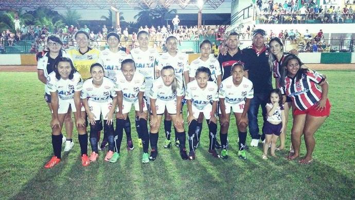 Caucaia, futebol, feminino (Foto: Eudes Caucaia/Arquivo Pessoal)