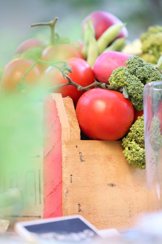 Mesa de Legumes (Foto: Michele Moll)