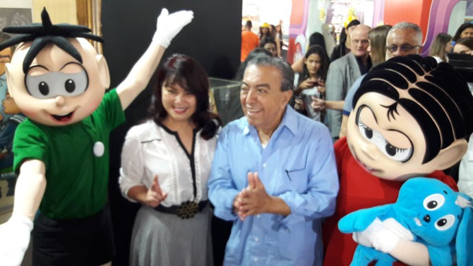 Mauricio de Sousa abre seu espaço na Bienal Internacional do Livro de SP