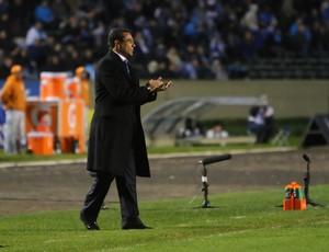 Luxemburgo na partida contra o Fluminense  (Foto: Lucas Uebel / Grêmio, DVG)