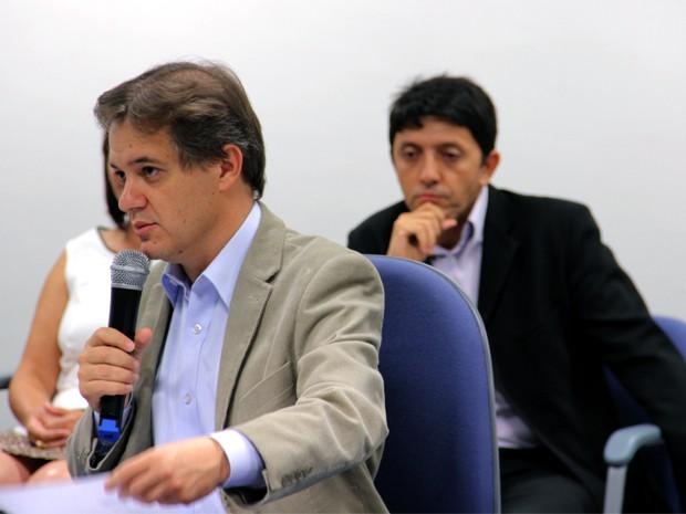 Vice de Blanco assumirá cargo em gestão de Carlinhos Almeida (Foto: Carlos Santos/G1)