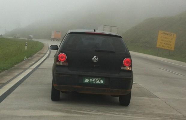 A traseira é do Polo... (Foto: Rodrigo Mora / G1)
