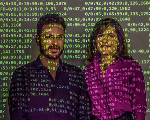 Tecnologia;Ciência;Entrevista;Mayana Zatz;Michel Naslavsky (Foto: Rogério Albuquerque)