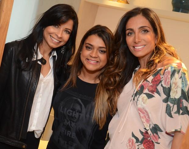 Ana Lima, Preta Gil e Andrea Santa Rosa (Foto: Ari Kaye/Divulgação)