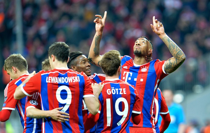 Boateng gol Bayern de Munique (Foto: AP)