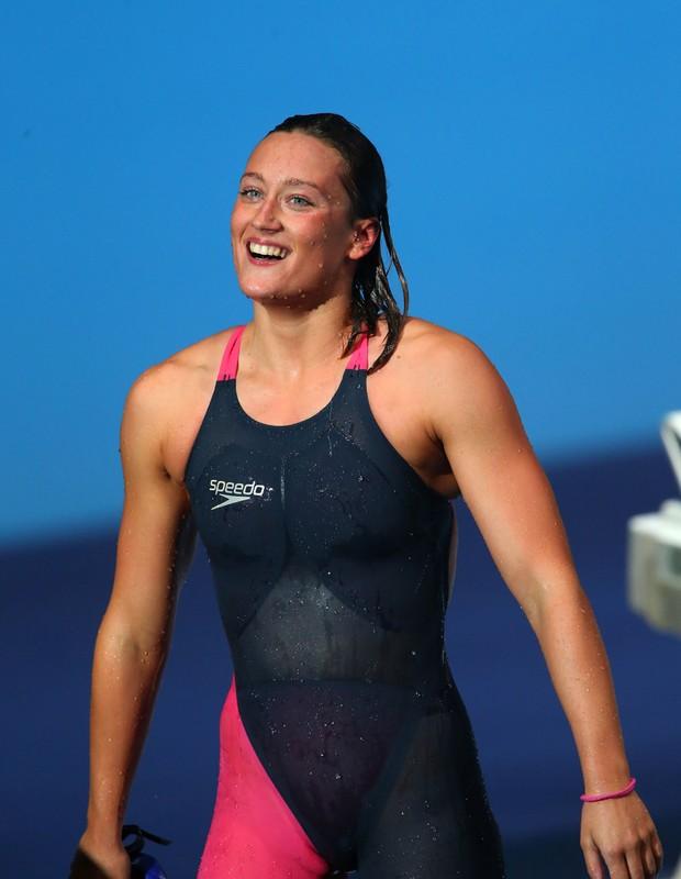 Mireia Belmonte,atleta da equipe de natação da Espanha (Foto: Alexander Hassenstein/Getty Images)